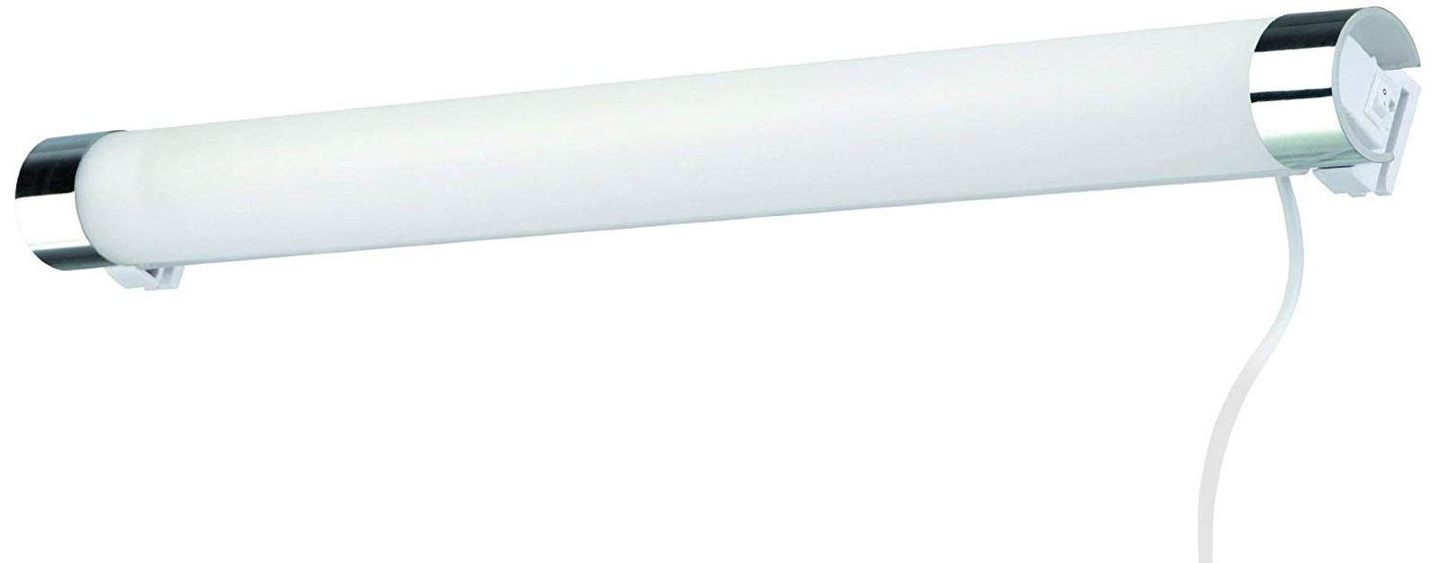 Spiegelleuchte Badezimmerlampe Briloner Surf 2139-018 Schalter Wandlampe Chrom