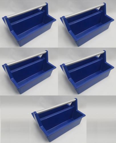 Werkzeugkasten 5 Stück dunkeblau Allit