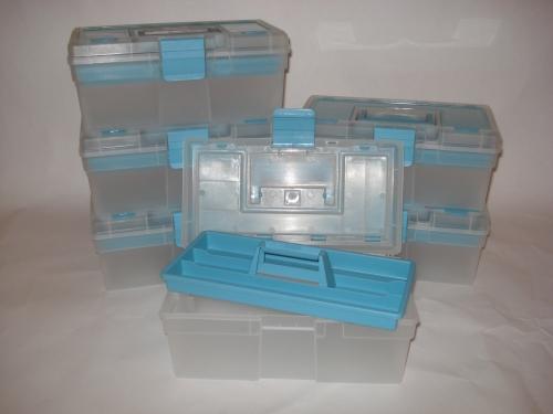 6x Werkzeugkoffer McPlus Clear 12,5 Allit 416401