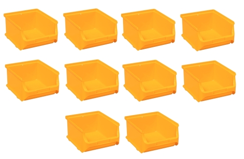 10x Stapelbox Gr. 2B Gelb ProfiPlus Box 2 B Allit 456242 Sichtlagerbox