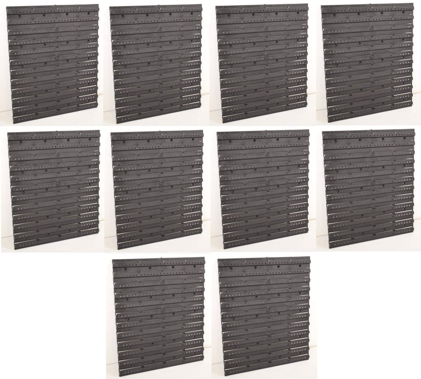 10x Wandplatte Werkzeug Loch Wand für Stapelboxen Werkstatt ProfiPlus Allit