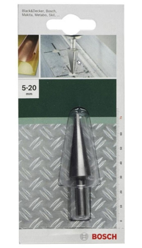 Bosch Blechschälbohrer 5-20 mm Schälbohrer Lochfräser 2609255120
