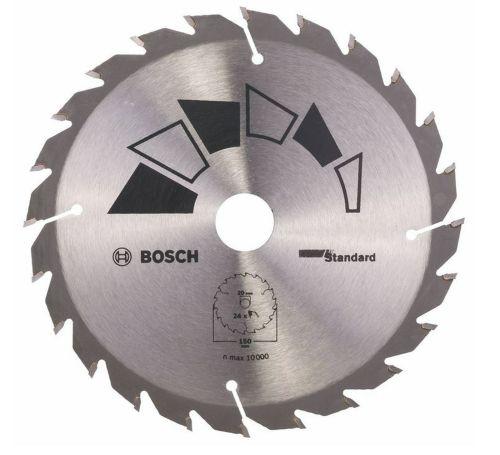 Bosch HM Kreissägeblatt 150 x 20/16mm 24 Z Kreissägeblätter 2609256806