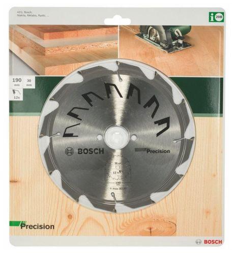 Bosch HM Kreissägeblatt 190 x 30 mm 12 Z Kreissägeblätter 2609256868