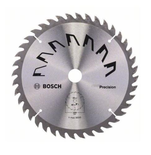 Bosch HM Kreissägeblatt 184 x 20 / 16 mm 40 Zahn 2609258864
