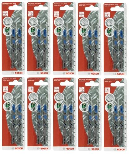 Bosch 20x Stichsägeblätter T118B T-Schaft HSS Metall 2609258730
