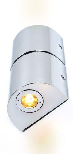 LED Wandleuchte Badlampe DecoMode 5264177 Flair 2x 1 Watt Up&Down