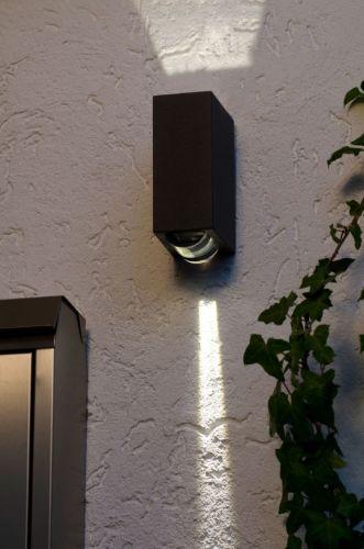 Außenleuchte Wandlampe E27 Terrassenbeleuchtung Eco-Light Lutec Pino 1841 GR ESL