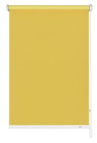 Seitenzug Rollo v. Größen Gelb Verdunkelungsrollo Gardinia