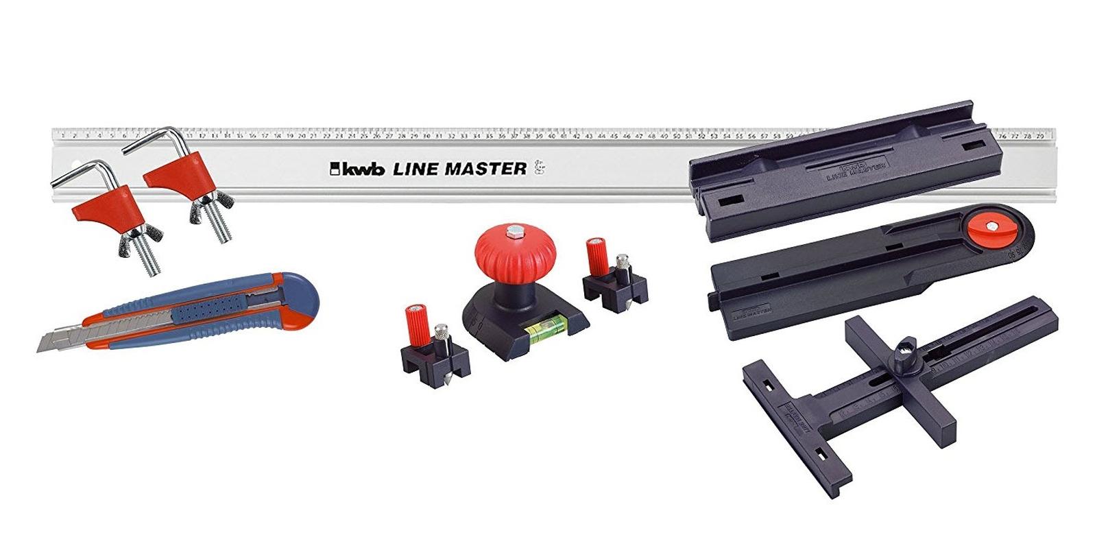 10 tlg line master set alu lineal s genf hrung kwb 783908. Black Bedroom Furniture Sets. Home Design Ideas