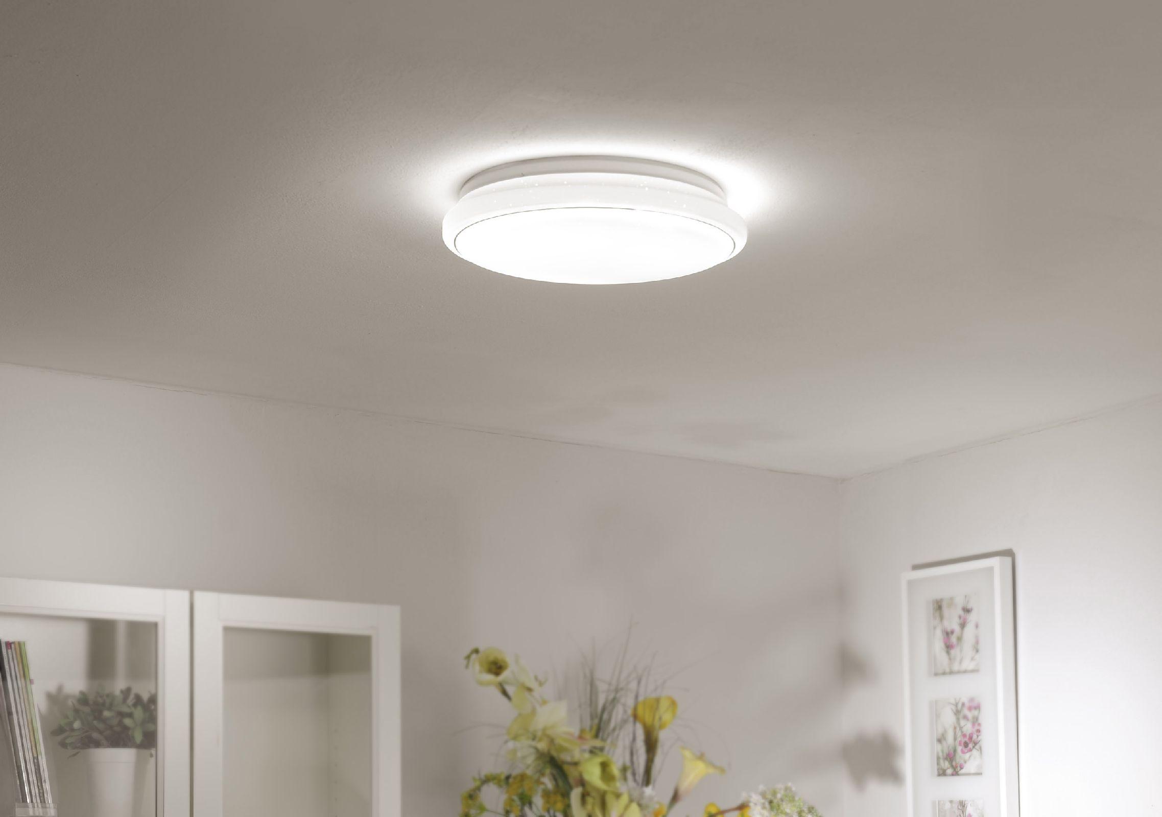 led deckenleuchte leuchtendirekt 14364 16 jupiter 32 w. Black Bedroom Furniture Sets. Home Design Ideas