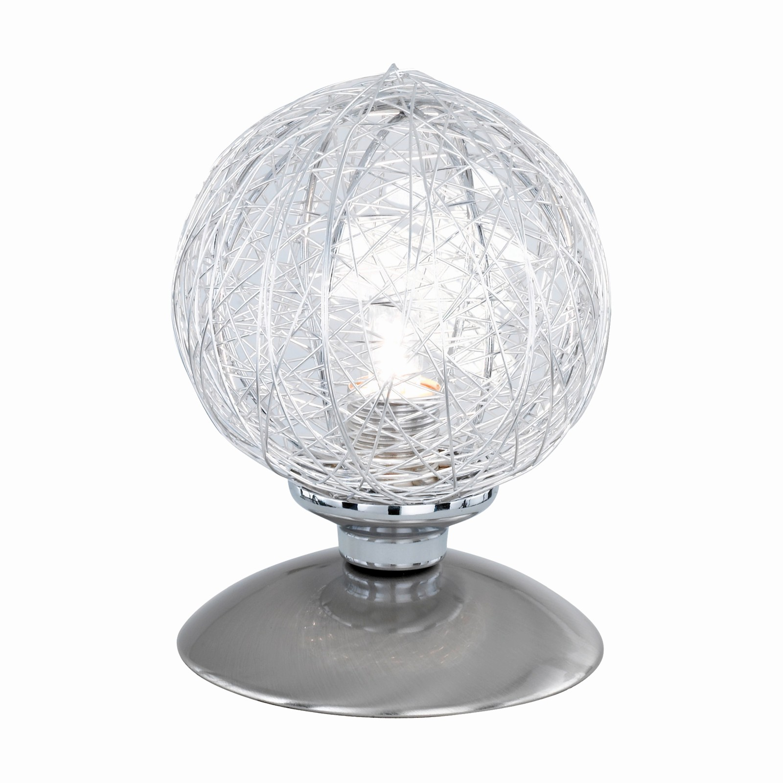 LED Tischleuchte Paul Neuhaus Tino 4025-55 Beistelllampe Stahl G9 3 Watt