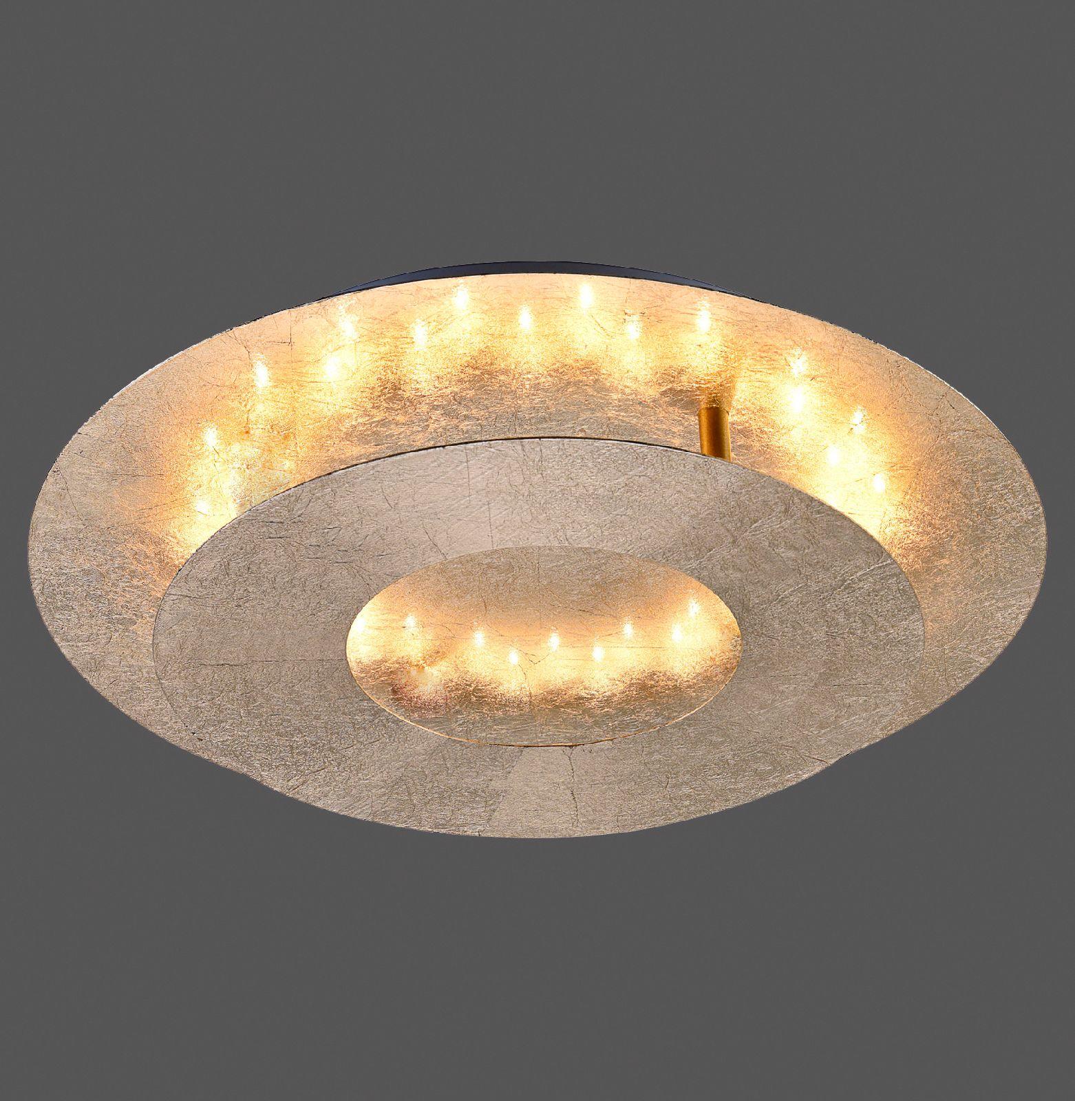 Led wandleuchte paul neuhaus deckenlampe nevis 9011 12 - Flurbeleuchtung led ...