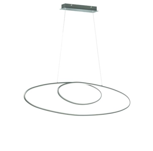 LED Pendelleuchte Briloner 4442-039 Hängelampe Welle Dimmbar in 3 Stufen