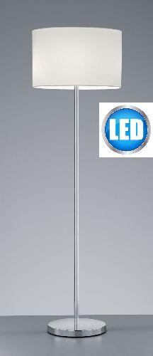 LED Stehleuchte Trio 401100225 Stoffschirm Beige Loft Leselampe Galerie